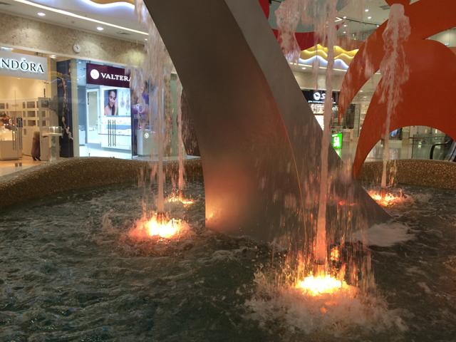 fontan-barselona Фонтан в ТРК Европолис от Ванбас